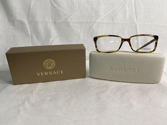 Versace VE3174 green tortoise 55.17.140 women's eyeglass frames