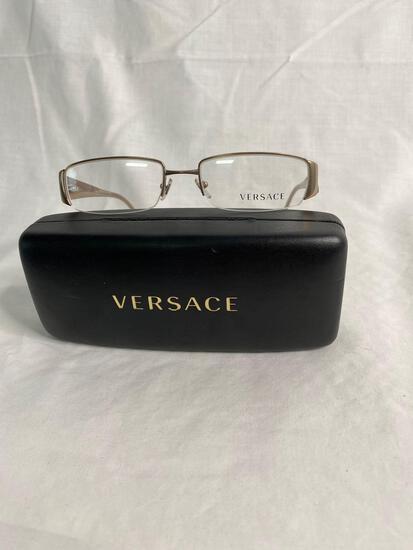 Versace VE1109 gold 52.16.135 women's eyeglass frames
