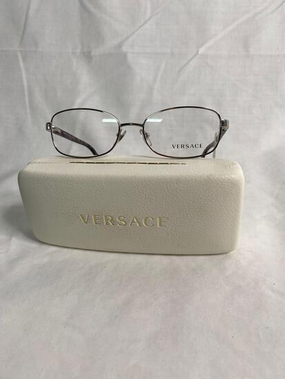 Versace VE1213 silver 53.17.135 women's eyeglass frames