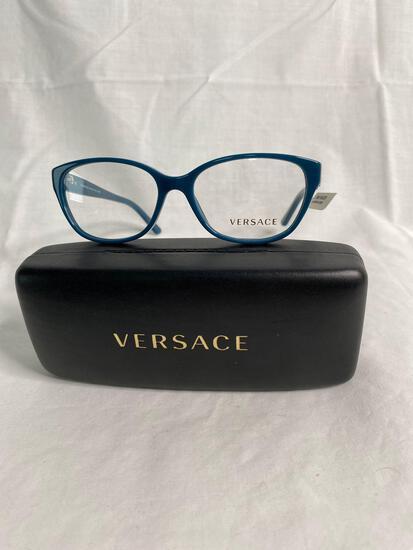 Versace VE3189 blue 52.15.140 women's eyeglass frames