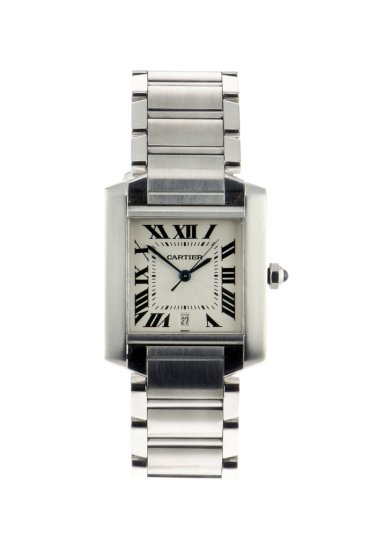 Cartier Tank Francais large size Automatic stainless steel