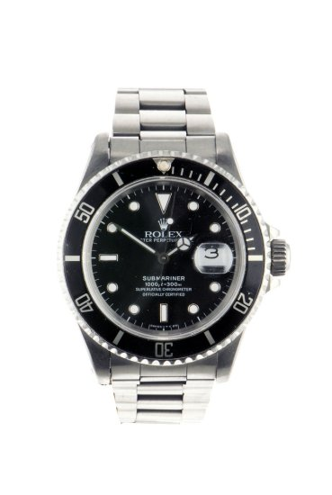 Rolex Submariner Date stainless steel 16610 complete with Box and Paperwork