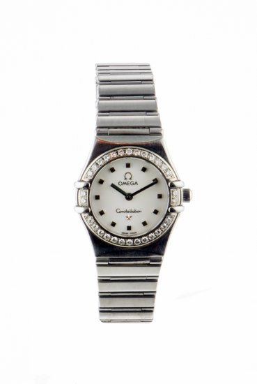 Omega Diamond Set Lady's 'My Choice' Constellation
