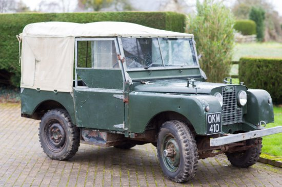 1951 Land Rover Series I 80 Inch