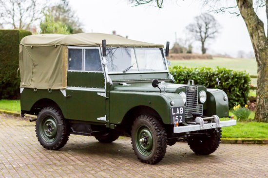 1952 Land Rover Series I 80 Inch Restored