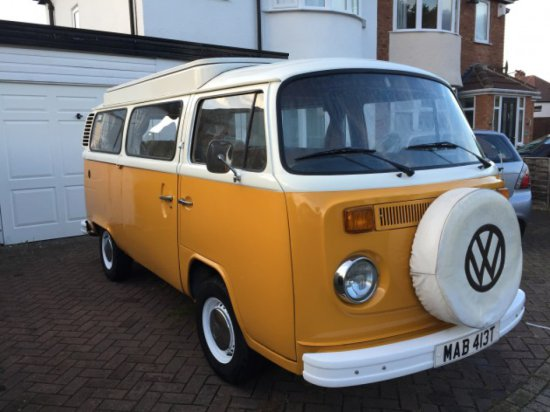 1979 Volkswagen Type 2 Devon Conversion Camper Van - Rare twin Slider