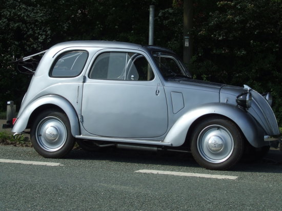 1939 Fiat Topolino - Ex Duke of Westminster