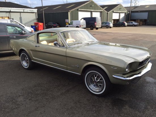 1966 Ford Mustang 289 2+2 Fastback
