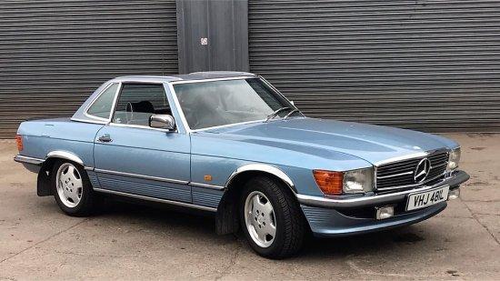 1972 Mercedes-Benz R107 350SL