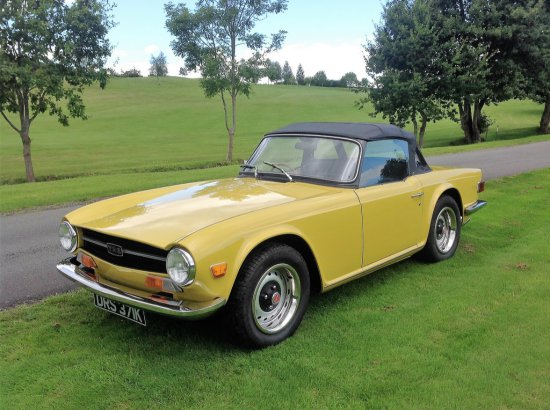 1972 Triumph TR6 O/D