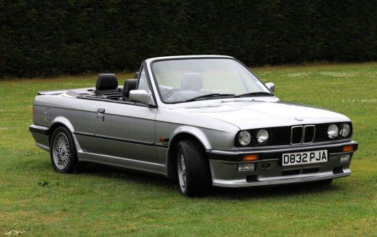 1987 BMW E30 325i M-Tech1 Convertible