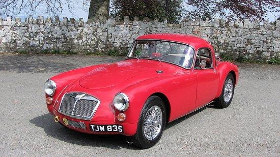 1957 MG MGA Coupé