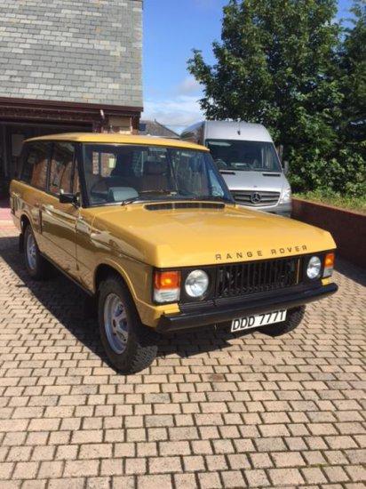 1979 Range Rover (Suffix F)