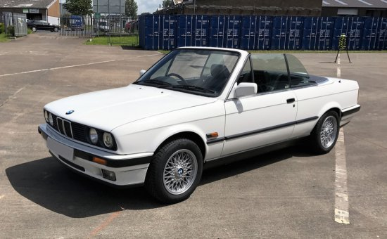 1991 BMW 320i Convertible