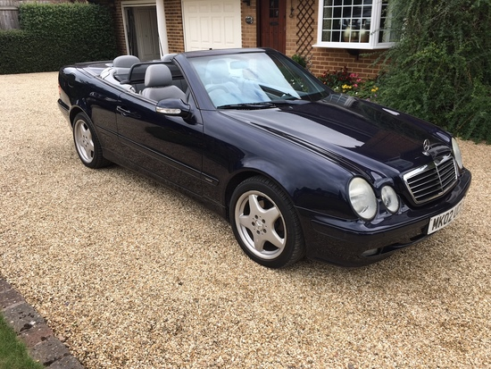 2002 Mercedes-Benz CLK 320 Avantgarde Convertible