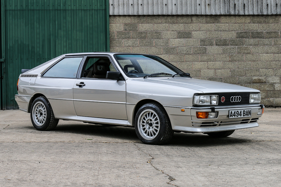 1984 Audi Quattro Turbo Charity Lot.