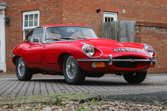 1970 Jaguar E-Type Series II Fixed Head Coupe