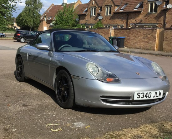 1999 Porsche 911 (996) Carrera 4 Manual Convertible