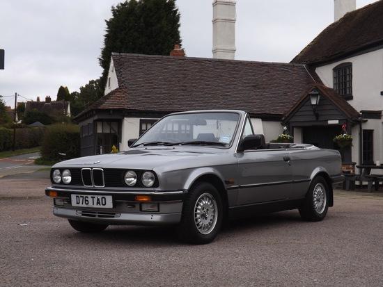 1986 BMW 325i (E30) Convertible
