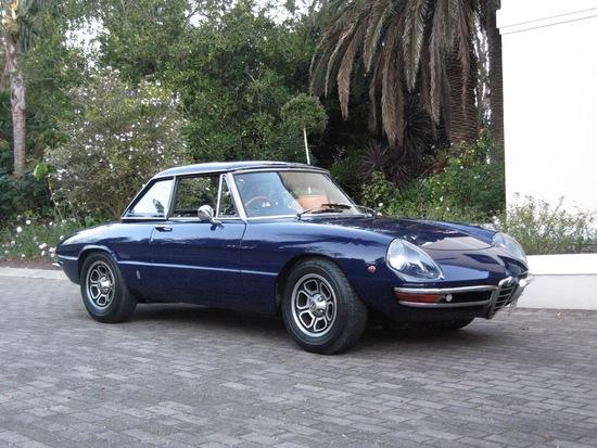 1969 Alfa Romeo 1750 Spider (Duetto)