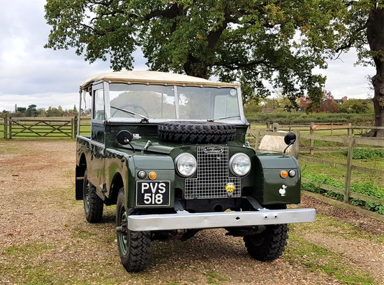 1956 Land Rover Series One - 86 inch Home Market