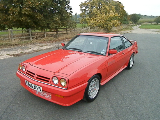1988 Opel Manta GTE Exclusive Coupe