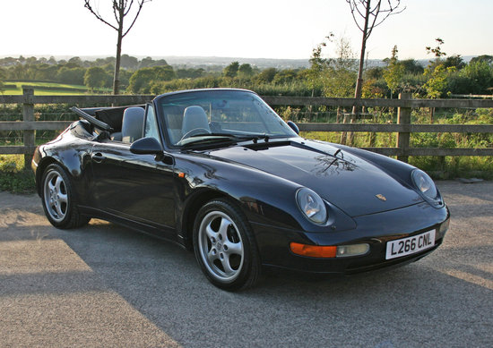 1994 Porsche 911 (993) Carrera Cabriolet (Manual)