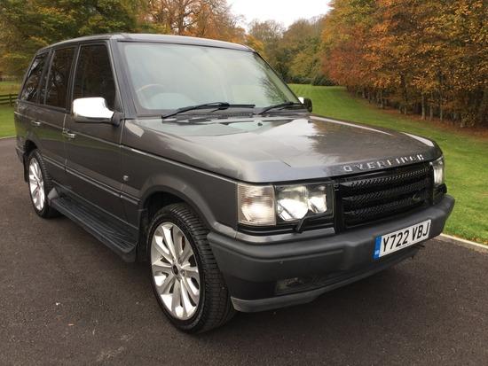 2001 Range Rover (P38) Vogue 4.6