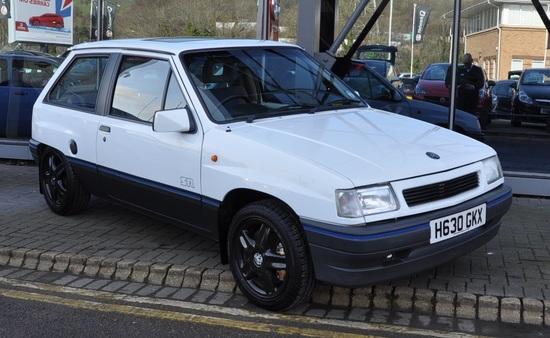 1991 Vauxhall Nova SR 1.4