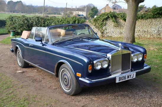 1985 Rolls-Royce Corniche Convertible Series 2