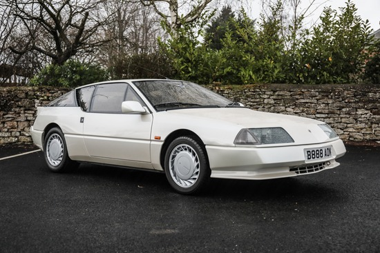 1986 Renault Alpine GTA V6 Turbo
