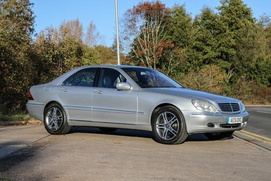 2001 Mercedes S Class S500