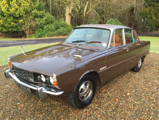 1975 Rover P6 3500 Automatic