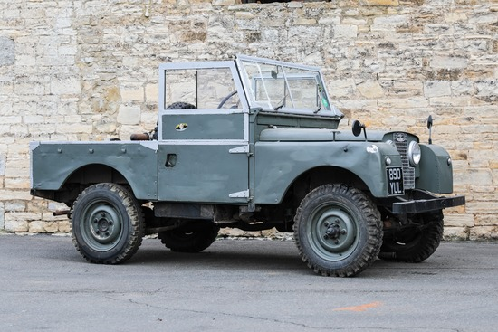 """1954 Land Rover Series 1 86"""" 2.0"""