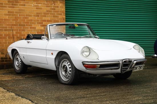 1967 Alfa Romeo 1600 Spider (Duetto)