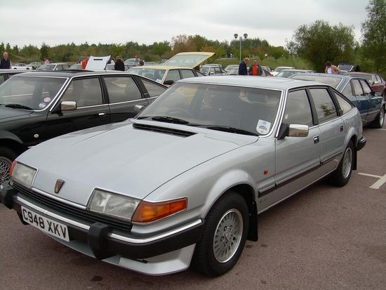 1986 Rover SD1 Vanden Plas