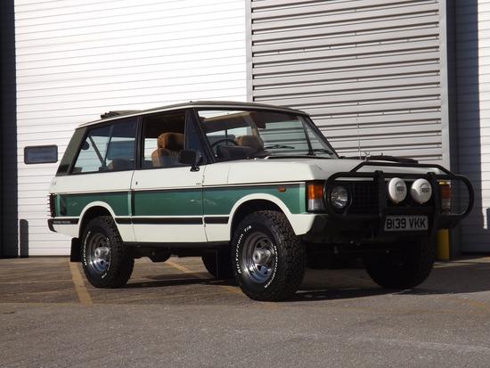 1985 Land Rover Range Rover 3-Door