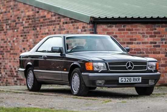 1990 Mercedes-Benz 420 SEC (C126)