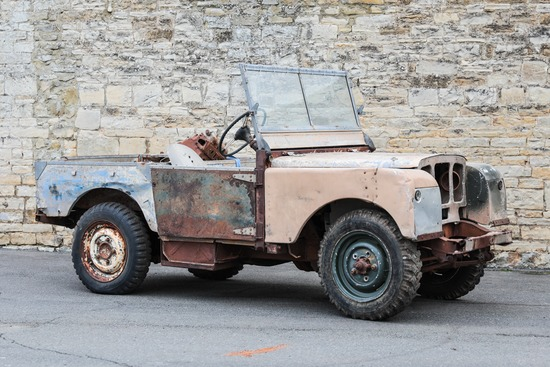 """1950 Land Rover Series 1 80"""" 1.6"""