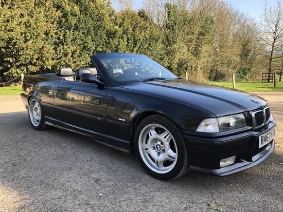 1997 BMW (E36) M3 Evolution Convertible