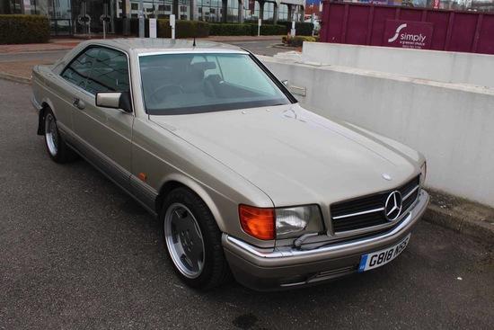 1990 Mercedes-Benz 500 SEC (C126)