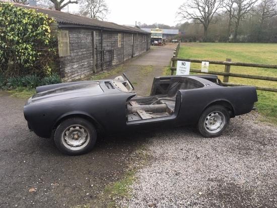 1965 Alfa Romeo 2600 Spider (Project)
