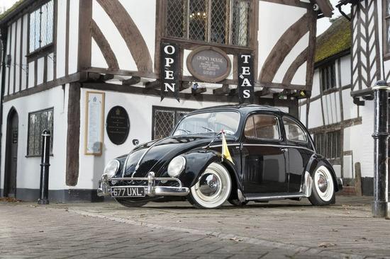 1958 Volkswagen Beetle Show car.
