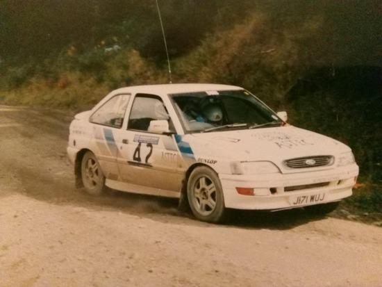 1992 Ford Escort RS2000 Mk 5  Rally car