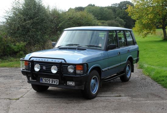 1988 Land Rover Range Rover EFI