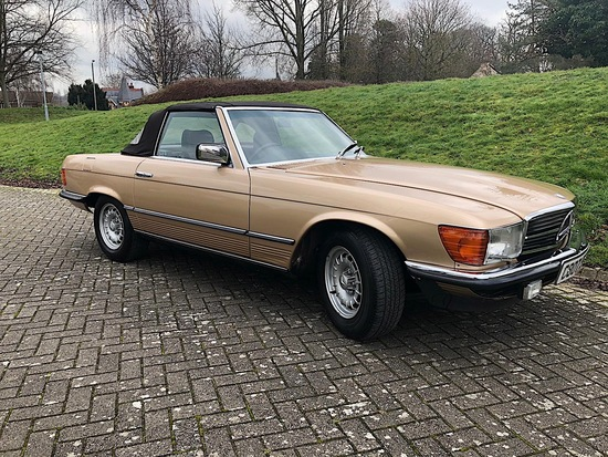 1985 Mercedes-Benz 380 SL R107