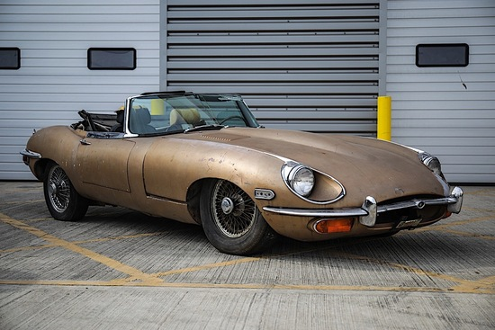 1969 Jaguar E-Type 4.2 Series 2 Roadster
