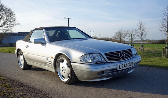1993 Mercedes-Benz 600SL (R129)