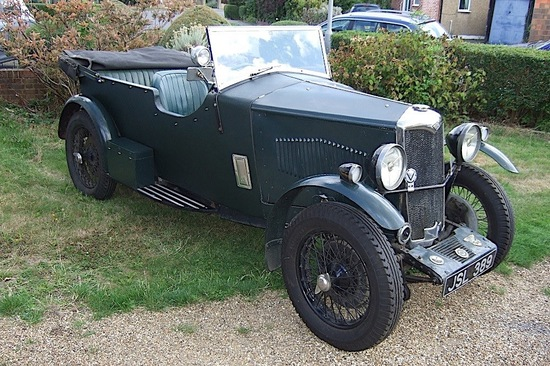 1933 Riley Nine Special Four-Seat Tourer