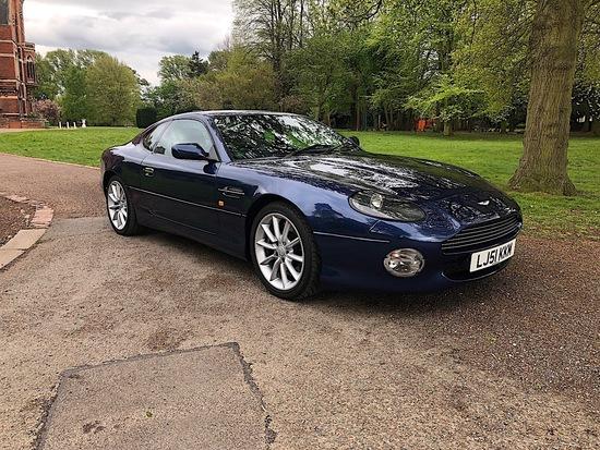 2001 Aston Martin DB7 V12 Vantage Coupe